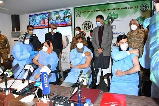 کوویڈ 19 ویکسین مہم پاکستان